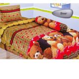 Review Sprei Lady Rose 120 Single Motif Bear Lady Rose