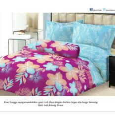 Isthana Collection Sprei Lady Rose 160x200 Essly (Buat Kasur No. 2)