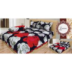 Isthana Collection Sprei Lady Rose 160x200 Vivian (Buat Kasur No. 2)