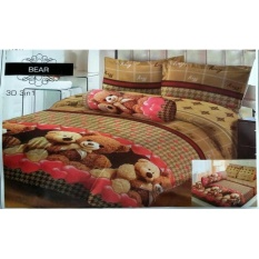 Sprei Lady Rose 180X200 Bear Original