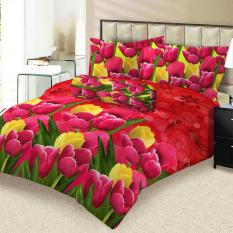 Diskon Sprei Lady Rose 180X200 Eva Lady Rose