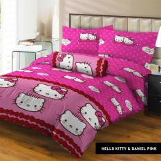 Isthana Collection Sprei Lady Rose 180x200 Kitty&Daniel Pink (Kasur No. 1)