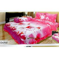 Toko Sprei Lady Rose 180X200 Orchid Online Di Indonesia