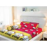 Harga Sprei Lady Rose King Bantal 2 180X200 Kittydaniel Red Seken