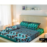 Sprei Lady Rose King Bantal 2 180X200 Oscar Lady Rose Diskon 30