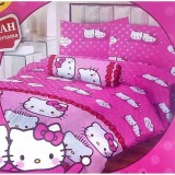 Toko Sprei Lady Rose No 1 180 X 200 King Size Motif Kitty Daniel Pink Terdekat