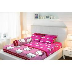 Toko Sprei Lady Rose Queen Bantal 2 160X200 Kittydaniel Pink Lady Rose Online