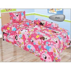 Spesifikasi Sprei Lady Rose Single 120 Animal Murah Berkualitas