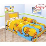 Jual Sprei Lady Rose Single 120 Duck Satu Set