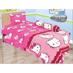 Diskon Sprei Lady Rose Single 120 Kittydaniel Pink Lady Rose Jawa Barat