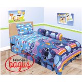 Cuci Gudang Sprei Lady Rose Single 120 Stitch