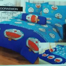 Spesifikasi Sprei Lady Rose Single 120 X 200 Doraemon Lengkap
