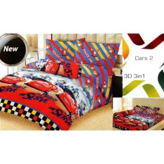 Review Sprei Lady Rose Single Uk 120X200 Motif Cars 2 Multi
