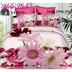 Dimana Beli Sprei Lavender Katun Jepang Motif Fresh Flower 8021 Uk 160X200 Sprei Murah