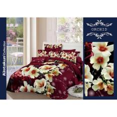 Jual Sprei Luxury Orchid Kintakun 160X200 Baru