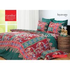 sprei murah Bedcover Batik Carmina - Isyawara ukuran 180x200
