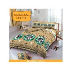 Beli Sprei Murah Bedcover D Luxe Kintakun Ukuran 120 X 200 Starbucks Coffee Yang Bagus