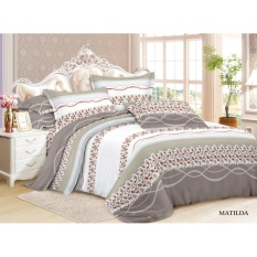 sprei murah Bedcover VallerBed Cover SET 180x200 No.1 King Size