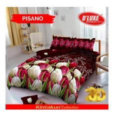 sprei murahn Bedcover D'luxe Kintakun ukuran 180 x 200 - Pisano