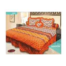 SPREI MY LOVE RUMBAI 180 DRAGON 180X200 KING SIZE NO.1 TERMURAH