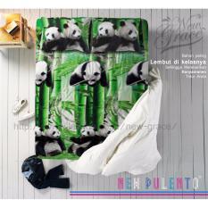 Harga Sprei New Pulento Microtencel Motif China Panda 120 X 200 New Original