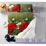 Spesifikasi Sprei New Pulento Microtencel Motif Dahlia Delila 120 X 200 Online