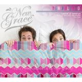 Diskon Sprei New Pulento Microtencel Motif Sweet Pink 120 X 200 New