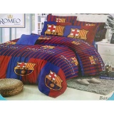 Review Sprei Romeo Ukuran 160 X 200 Queen No 2 Barcelona Limited Indonesia