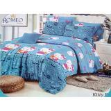 Sprei Romeo Ukuran 180 X 200 King No 1 Hello Kitty Blue Diskon Indonesia
