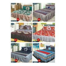 SPREI RUMBAI CALIFORNIA KING 180X200 / SEPREI MY LOVE / SEPRAI