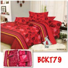 Harga Sprei Seprei Sepre Bedcover Set Flat Bed Cover Katun China Natasha Murah Di Indonesia