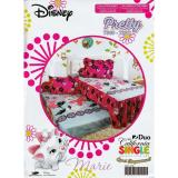 Harga Sprei Sorong 2In1 California Single Uk 120X200 Motif Pretty Termurah