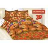 Jual Sprei Uk 180 X 200 Bonita Bear House Bonita Disperse Ori