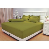 Sprei Vallery Quincy Queen 160X200 Green Murah
