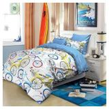 Jual Sprei Vhepra Motif Bicycle Toko Warna Warni Import