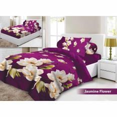Jual Cepat Sprei Vito Disperse Plat Bantal 2 Jasmine Flower