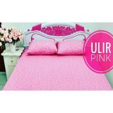 Spesifikasi Sprei Waterproof Jaxine Anti Air Sprei Only Ulir Pink Terbaru