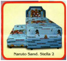 Spring Bed 2In1 Naruto Murah Uk. 100 Jabodetabek