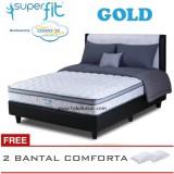 Spesifikasi Spring Bed Comforta Super Fit Gold Uk 160X200 Hanya Kasur Tanpa Divan Dan Sandaran Paling Bagus