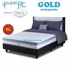 Spring Bed Comforta Super Fit Gold Uk.180x200-Hanya Kasur Tanpa Divan dan Sandaran
