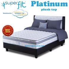 Spring Bed Comforta Super Fit Platinum Uk.200x200- Komplit Set
