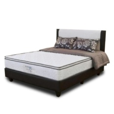 Spring Bed Comforta Super Fit Silver Uk.160x200-Komplit Set
