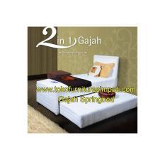 SPRINGBED 2IN1 GAJAH SANDARAN REGZA 1SET UK 120X200