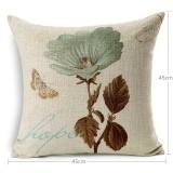 Harga Square Vintage Charm Flowers Cushion Cover Decorative Throw Pillow Covers Pillowcase Hidden Zipper Design Capa De Almofada Intl Not Specified Terbaik