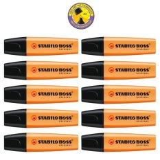Beli Stabilo Boss Original Set 10 Orange Kredit