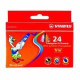 Harga Stabilo Krayon Crayon Trio Oil Pastels 24 Pcs Branded