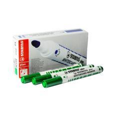 Jual Cepat Stabilo Plan Whiteboard Marker Green 12 Pcs