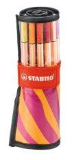Jual Stabilopen Point 88 Isi 25 Warna Kemasan Roller Set Motif Orange Berry Ori