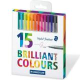 Review Staedtler Triplus Fineliner 15 Colours