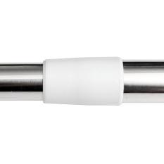 Diskon Stainless Steel Adjustable Tension Door Bathroom Shower Curtain Pole Rod Oem